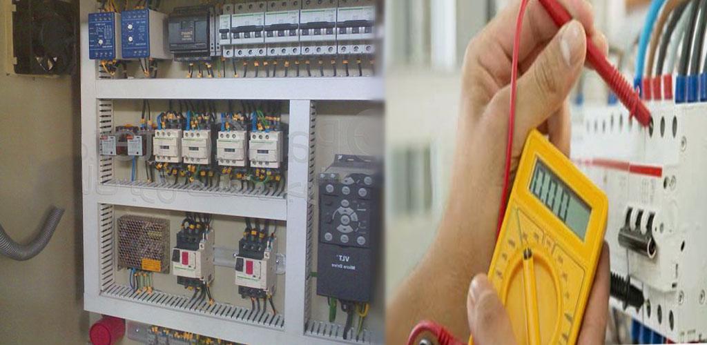 برق روشنایی تعمیر بازدید سیم کشی کابل کلید عیب یابی