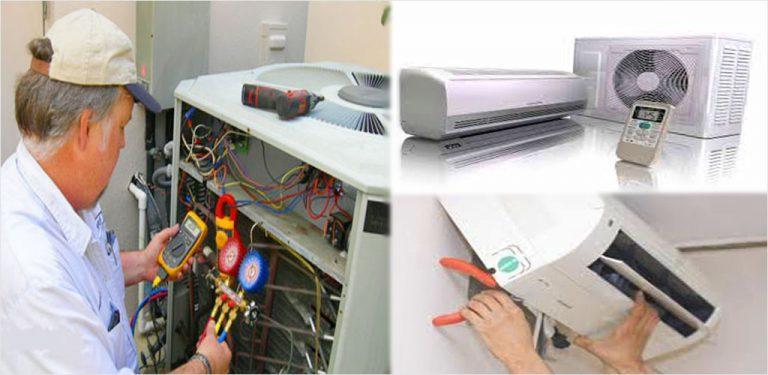 اسپلیت کولر گازی عیب یابی تعمیر نصب اینترنت